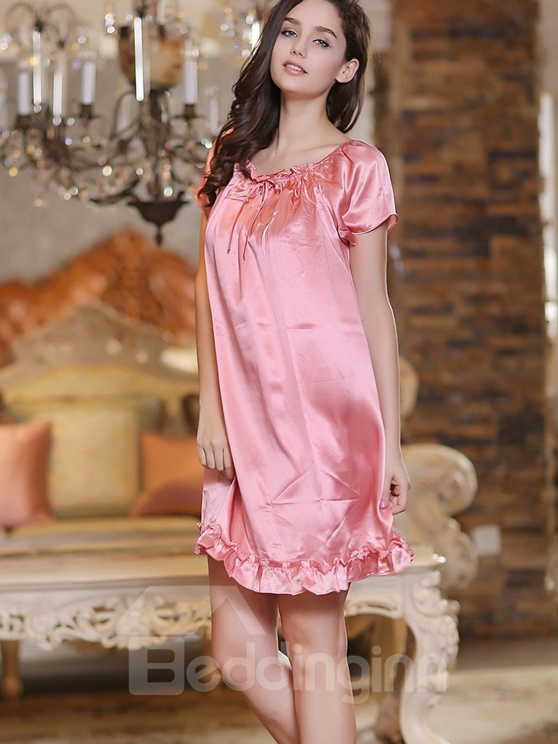 Sweet Princess Style Elegant Pretty Sleepwear