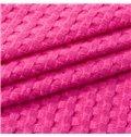 High Quality Comfortable Plain Fabric Jacquard Blanket