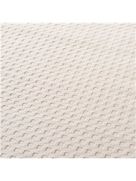 High Quality Comfortable Plain Fabric Jacquard Blanket