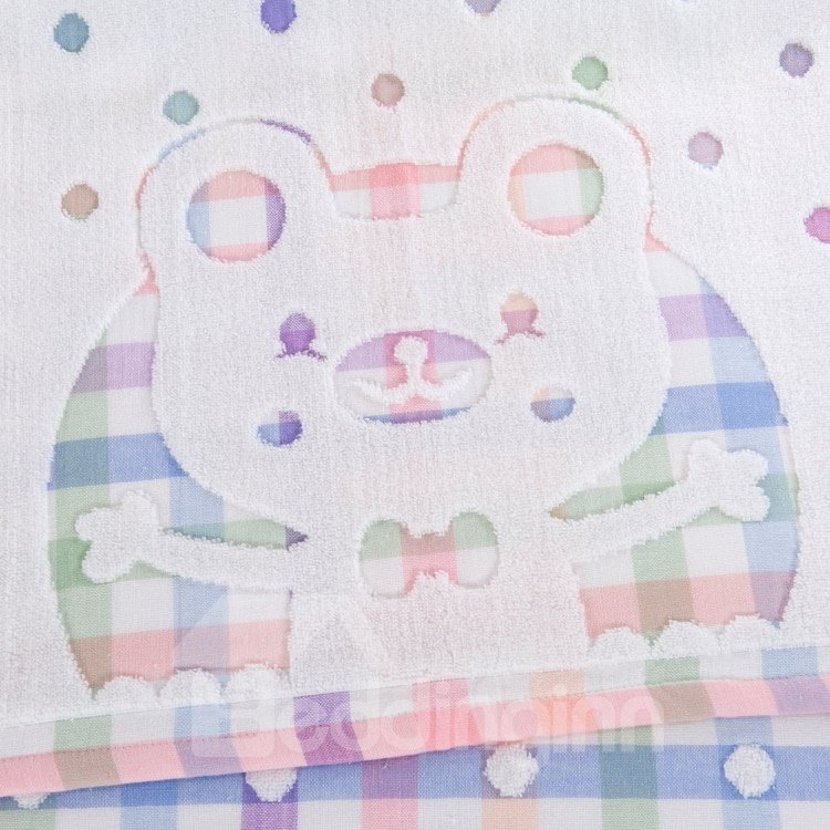 Hot Selling Lovely Bear 100% Silk Summer Blanket