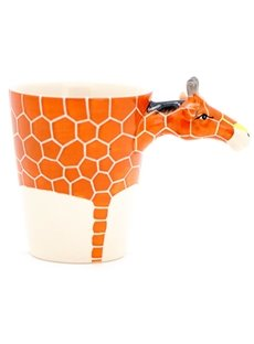 New Arrival Amazing Hand-painted 3D Ceramic Giraffe Creative Mug