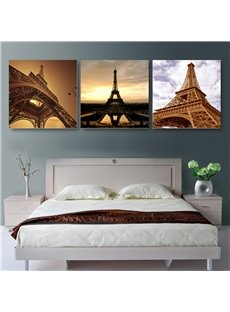 New Arrival Magnificent Eiffel Tower Cross Film Wall Art Prints