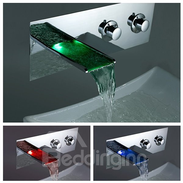 Top Selling Amazing LED Color Changing Bathroom Sink Faucet