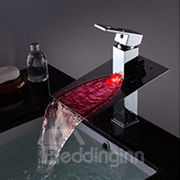 High Quality Amazing LED Color Changing Bathroom Sink Faucet