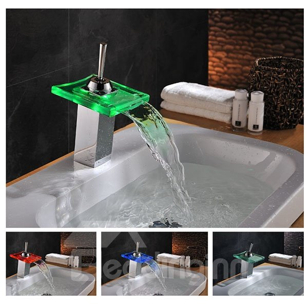 Top Selling Charming Colorful LED Bathroom Sink Faucet