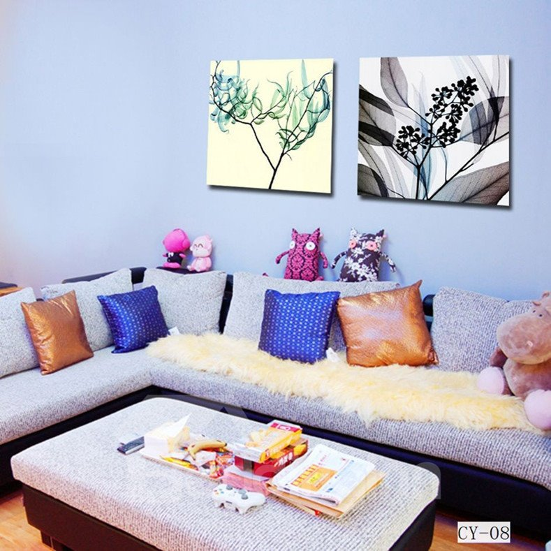New Arrival Trees And Leaves Film Wall Art Prints