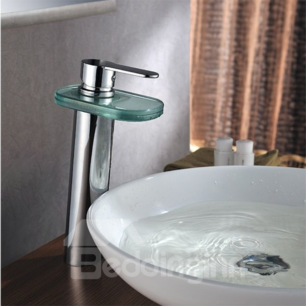 High Quality Popular  LED Color Changing by Temperature Bathroom Sink Faucet
