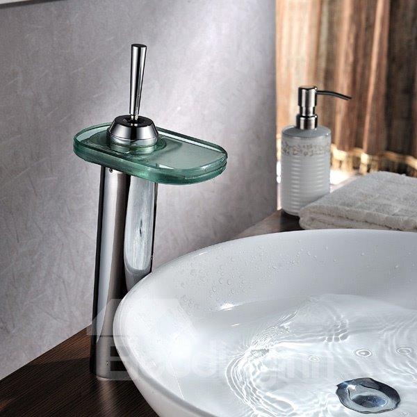 Modern Popular LED Color Changing Bathroom Sink Faucet