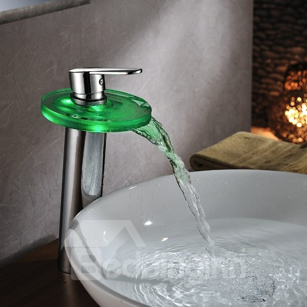 Top Selling Popular LED Color Changing Bathroom Sink Faucet