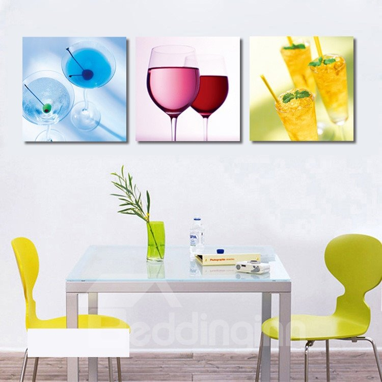 New Arrival Different Wine Glasses Film Wall Art Prints
