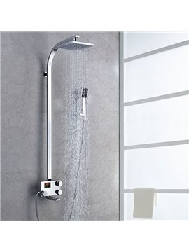Charming High Quality Thermostatic Digital Display Shower Head Faucet
