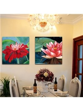 New Arrival Lotus And The Leaves Film Wall Art Prints