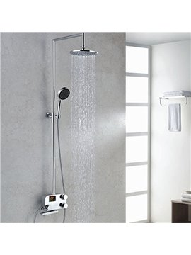 New Arrival High Quality Wonderful Thermostatic Digital Display Shower Head Faucet