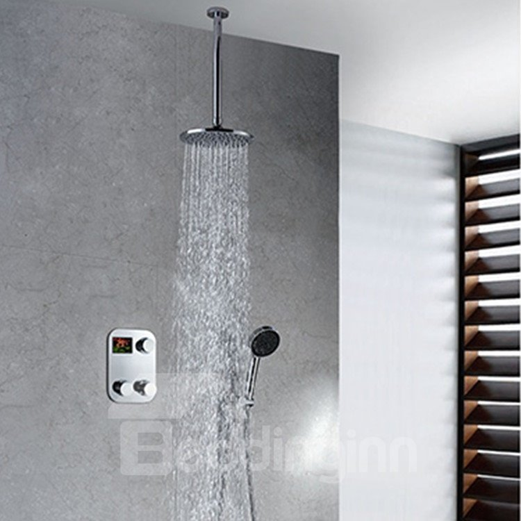 New Arrival High Quality Unique Thermostatic Digital Display Shower Head Faucet