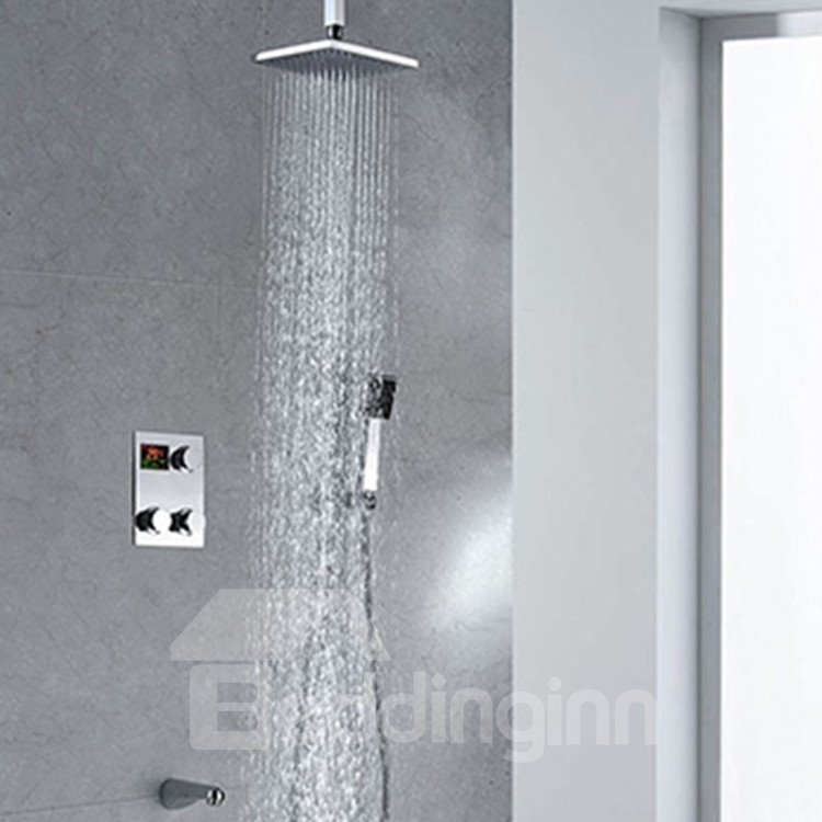 New Arrival Fantastic Thermostatic Digital Display Shower Head Faucet