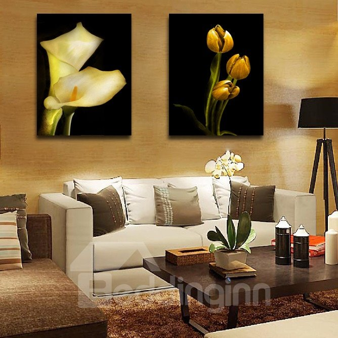 New Arrival Bursting And Budding Lilys Film Wall Art Prints