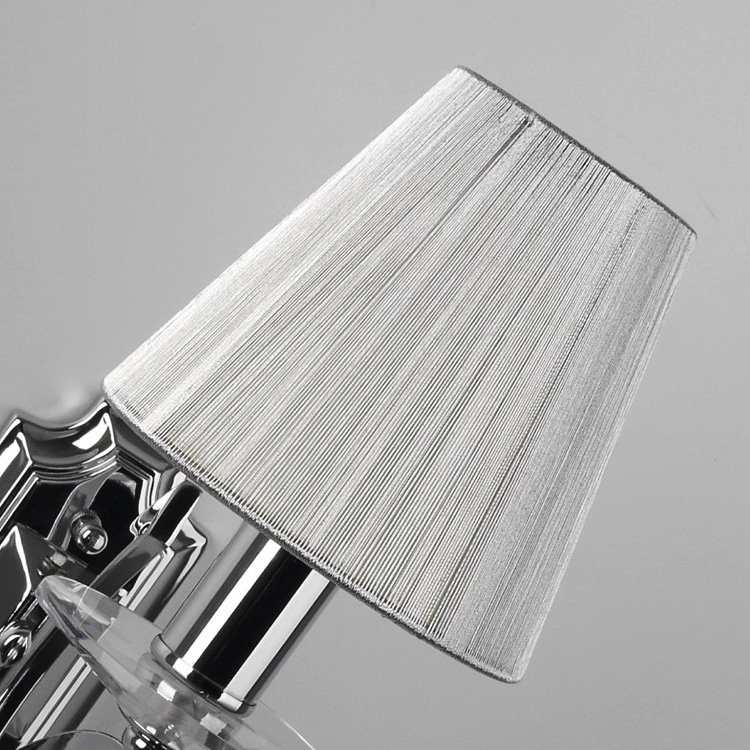 Elegant Simple Style Crystal Drops Decorative Wall Light