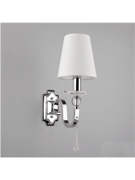 Gorgeous Crystal Drops Warm White Wall Light