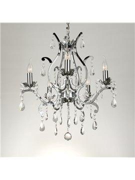 Traditional Amazing Metal Crystal 5 Lights Chandelier