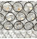 40W Metal Ring Feature Crystal Pendent Light