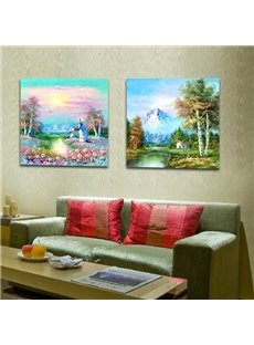 New Arrival Beatutiful Scenery Film Wall Art Prints