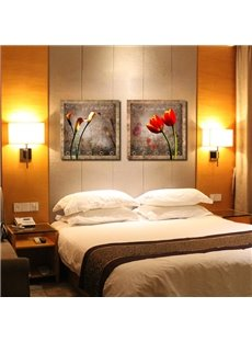 New Arrival Elegant Tulips And Lilies Film Wall Art Prints