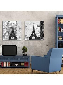 New Arrival Grand Eiffel Tower Film Wall Art Prints