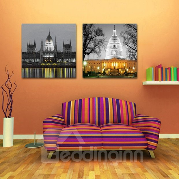 New Arrival White House Film Art Wall Prints