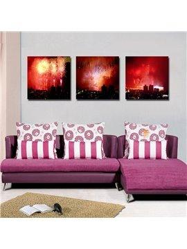 New Arrival Fantastic Fireworks Film Art Wall Prints