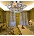 Glamorous Metal Crystal 3 Light Flush Mount