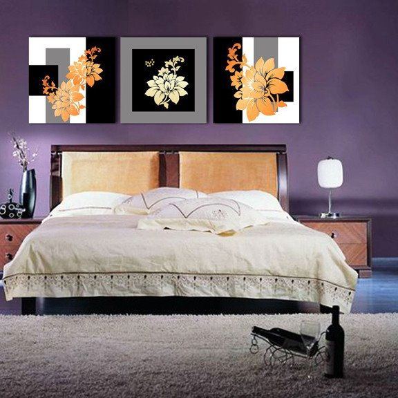 New Arrival Beautiful Flowers Canvas Wall Prints
