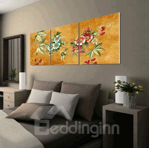 New Arrival Delicate Flowers Canvas Wall Prints