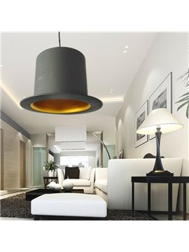 Charming Aluminum Shade 1 Light Pendant