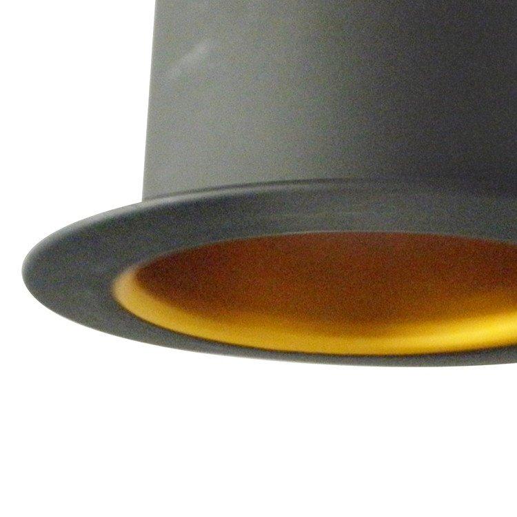 Charming Aluminum Shade 1 Light Pendant