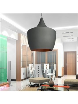 Amazing 60W Gray Shade 1 Light Pendant