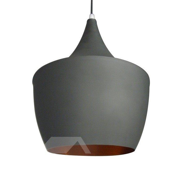 Amazing 60W Gray Shade 1 Light Pendant