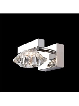 Amazing Metal Crystal Shade Wall Light