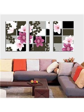 Top Selling Delicate Colorful Flowers Canvas Wall Prints