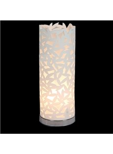 Tempting Floral Metal Acrylic Shade 1 Light Lamp