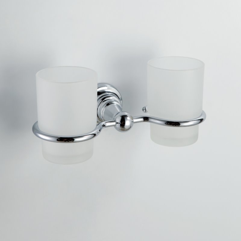 European Style Wall Mount Doudle Cup Holder