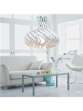 Electroplated Finish Amazing Metal Acrylic Shade 1 Light Pendant