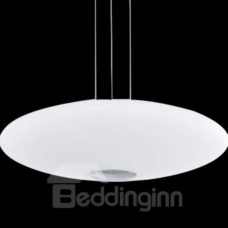 Amazing Glass Metal Top-sucking Disk Pendant Light