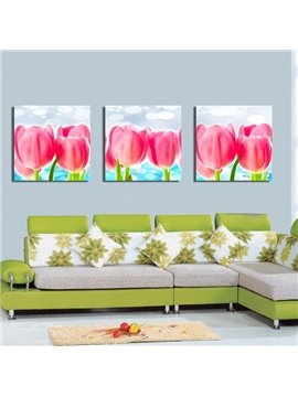 New Arrival Delicate and Fragrant Tulip Canvas Wall Prints