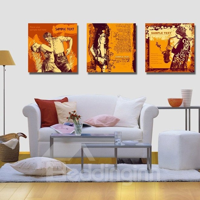 New Arrival People With Different Style Canvas Wall Prints