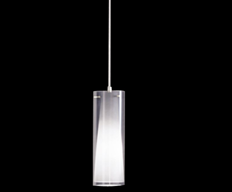 Gorgeous Metal Glass Shade 1 Light Pendant