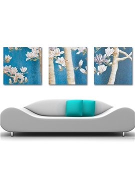 New Arrival Delicate Pink Flowers Blossom Canvas Wall Prints
