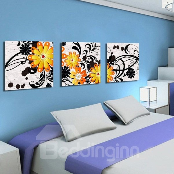 New Arrival Various Colorful Flowers Canvas Wall Prints
