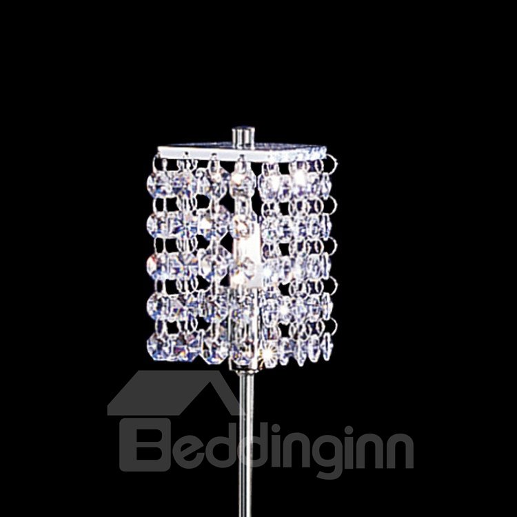 25W Modern CrystaL Shade 1 Light Lamp