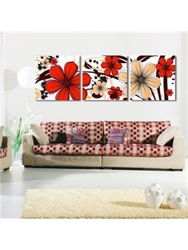 New Arrival Blooming Colorful Flowers Canvas Wall Prints