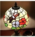 Tiffany Dragonfly Pattern Stained Glass Table Lamp